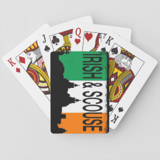 Irish & scouse playing cards