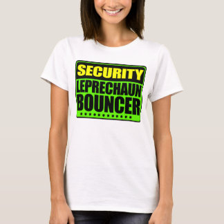 Irish Security Leprechaun Bouncer T-Shirt