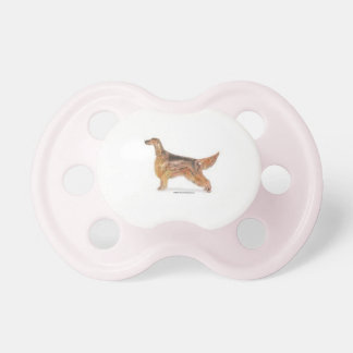 Irish Setter Baby Pacifier