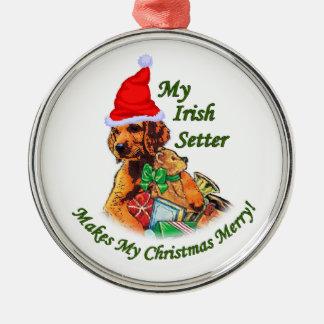 Irish Setter Christmas Christmas Ornament