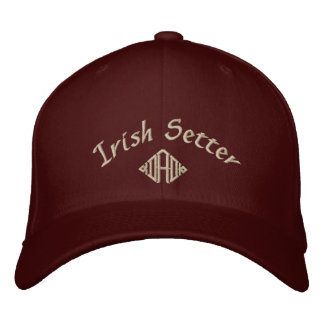 Irish Setter Dad Gifts Embroidered Hat