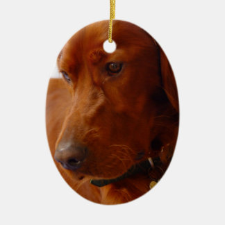 Irish Setter Dog Ornament