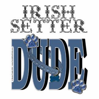 Irish Setter DUDE Standing Photo Sculpture