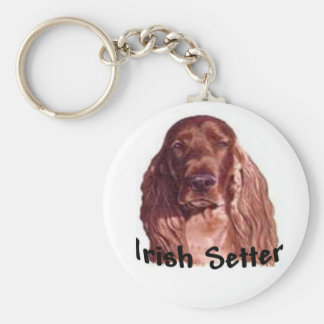 Irish Setter Key Ring