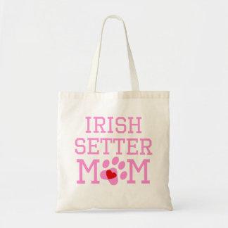 Irish Setter Mom Budget Tote Bag