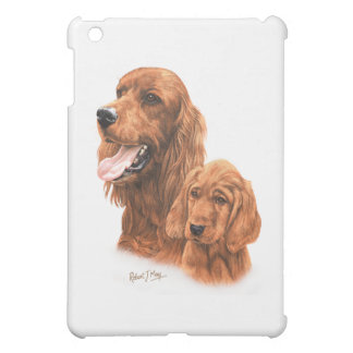 Irish Setter & Pup Cover For The iPad Mini