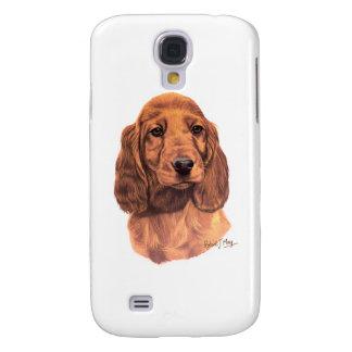 Irish Setter Pup Galaxy S4 Case