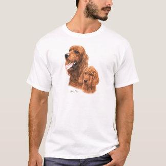 Irish Setter & Pup T-Shirt