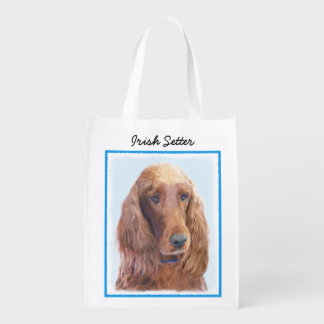 Irish Setter Reusable Grocery Bag