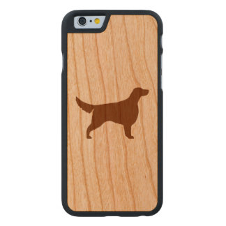 Irish Setter Silhouette Carved Cherry iPhone 6 Case