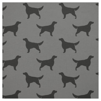 Irish Setter Silhouettes Pattern Fabric