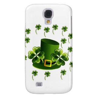 Irish Shamrock Art Galaxy S4 Case