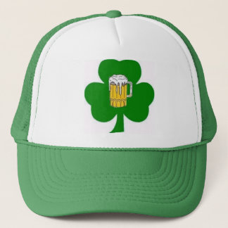 Irish Shamrock Beer Hat