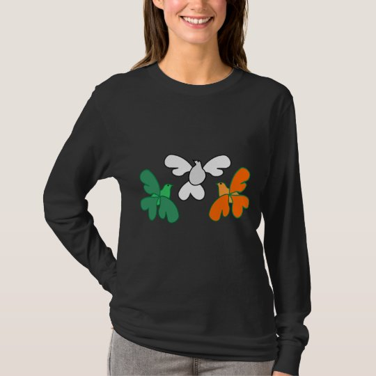 Irish shamrock -birds T-Shirt