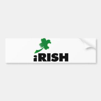 iRish Shamrock Bumper Stickers