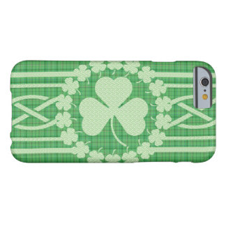Irish Shamrock Celtic Barely There iPhone 6 Case
