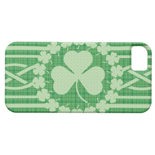Irish Shamrock Celtic Pattern Custom Case-Mate ID™