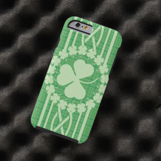 Irish Shamrock Celtic Tough iPhone 6 Case