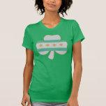 Irish Shamrock Chicago Flag Tshirt