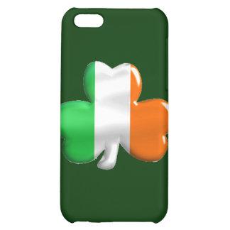 Irish Shamrock Clover Flag iPhone 5C Cover