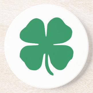 Irish Shamrock Drink Coaster