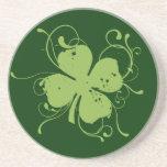 Irish Shamrock Coaster Drink Coaster