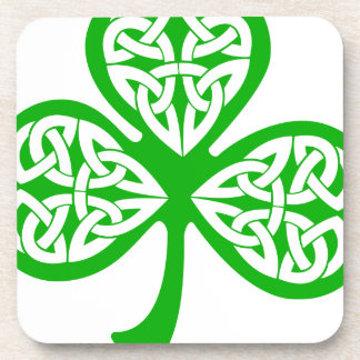 Irish Shamrock Drink Coasters