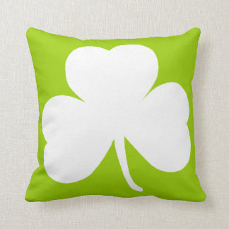 Irish Shamrock Cushion