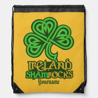 Irish Shamrock custom bag