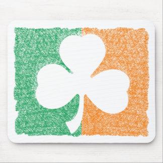Irish Shamrock custom mousepad
