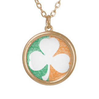 Irish Shamrock custom necklace