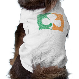 Irish Shamrock custom pet clothing