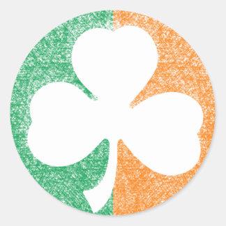 Irish Shamrock custom stickers