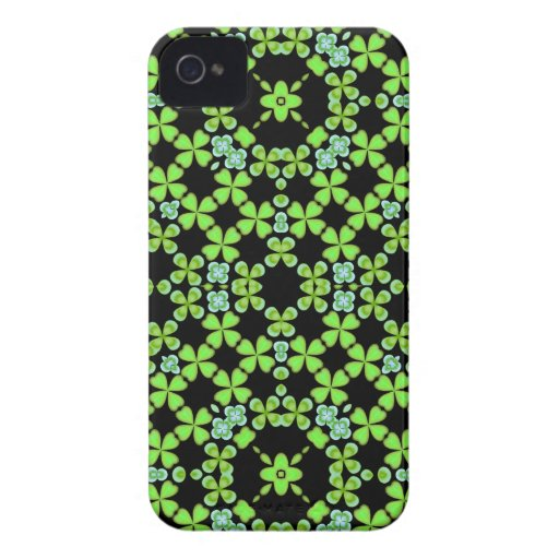 Irish Shamrock Deco Blackberry Bold Case