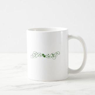 Irish Shamrock design Basic White Mug