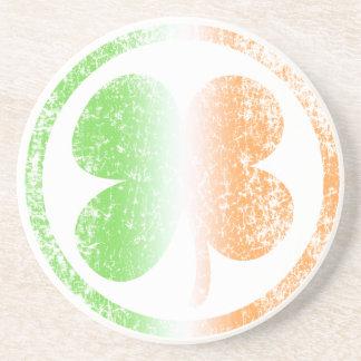 Irish Shamrock Fade Coaster