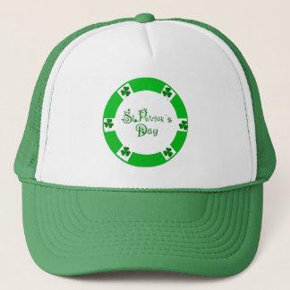 Irish Shamrock for Trucker-Hat Trucker Hat