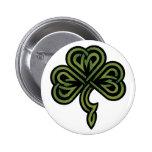 Irish Shamrock Gift Badge