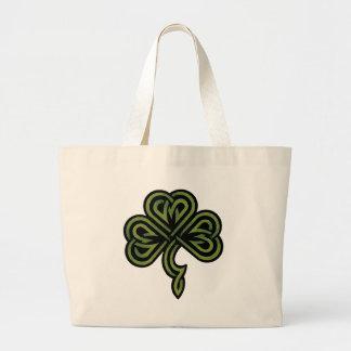 Irish Shamrock Gift Canvas Bags
