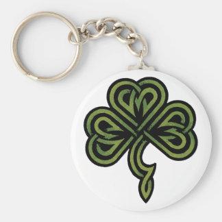 Irish Shamrock Gift Key Ring