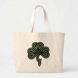 Irish Shamrock Gift Large Tote Bag