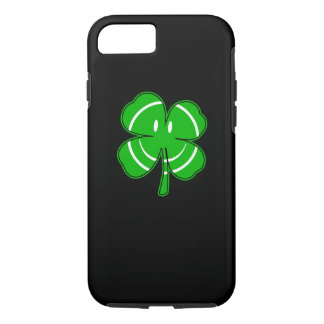 Irish Shamrock Happy Face Party iPhone 7 Case