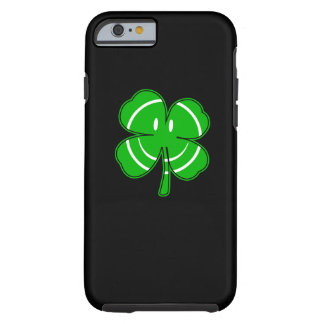 Irish Shamrock Happy Face Party Tough iPhone 6 Case