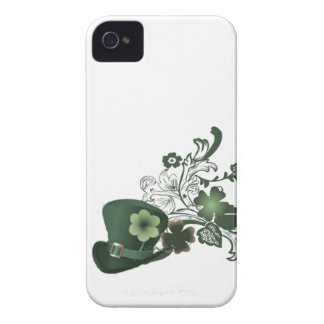 Irish Shamrock Hat iPhone 4 Case-Mate Case