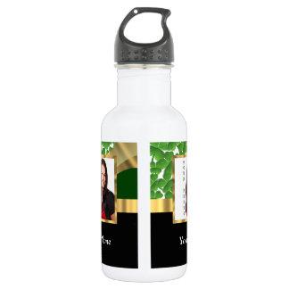 Irish shamrock instagram  photo template 532 ml water bottle