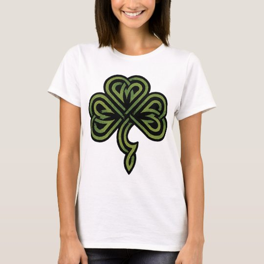Irish Shamrock Ladies T-Shirt