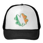 Irish Shamrock Mesh Hat