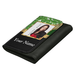 Irish shamrock personalized instagram wallets