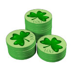 Irish Shamrock Poker Chips