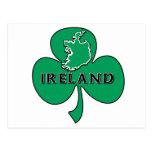 Irish Shamrock Post Cards